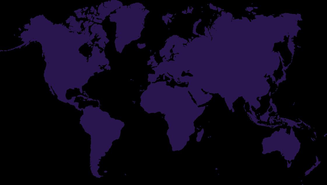 Weltkarte profine Produktion