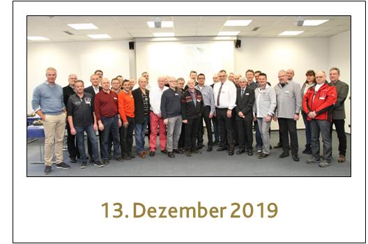 Gruppenfoto unsere Jubilare des Jahres 2019 in Pirmasens