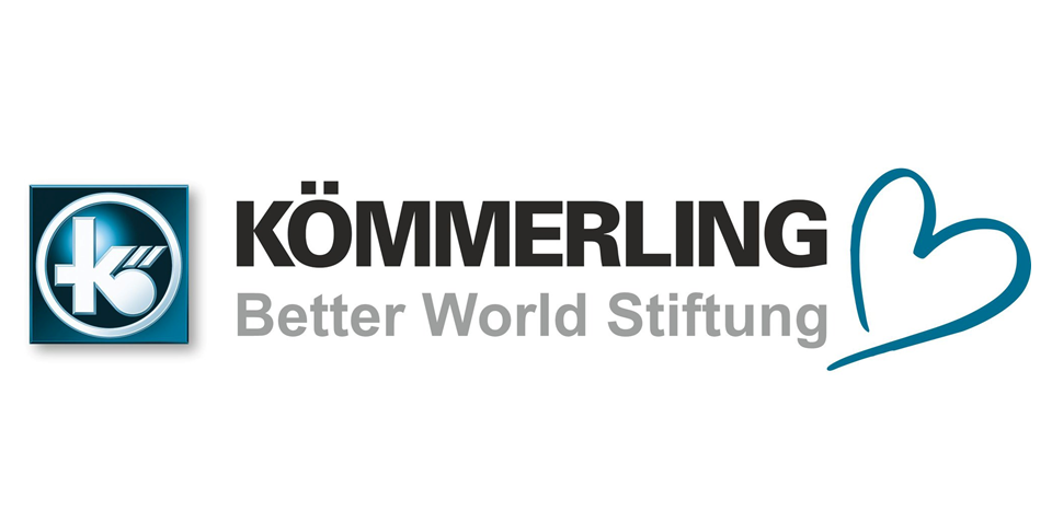 Das Logo der Kömmerling Better World Stiftung