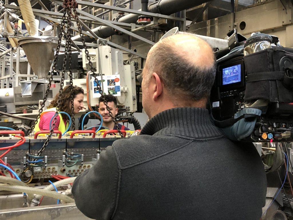 Behind the Scenes: Filmdrehs Industriekauffrau und Verfahrensmechaniker/in