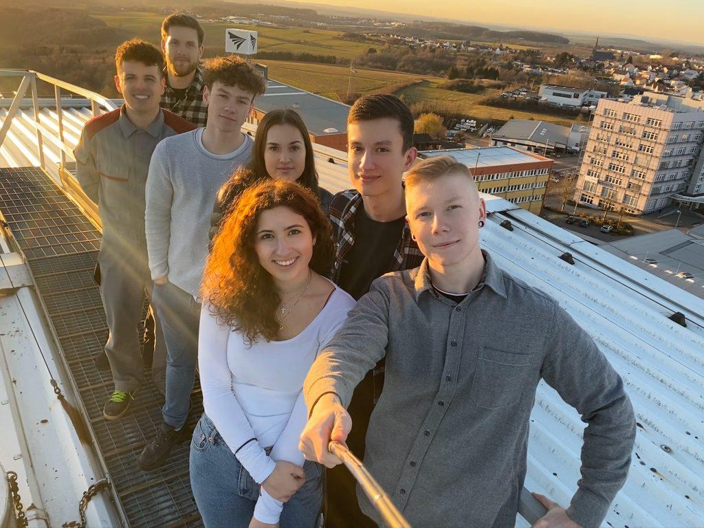 Selfie unseres Instagram Teams von profine_career