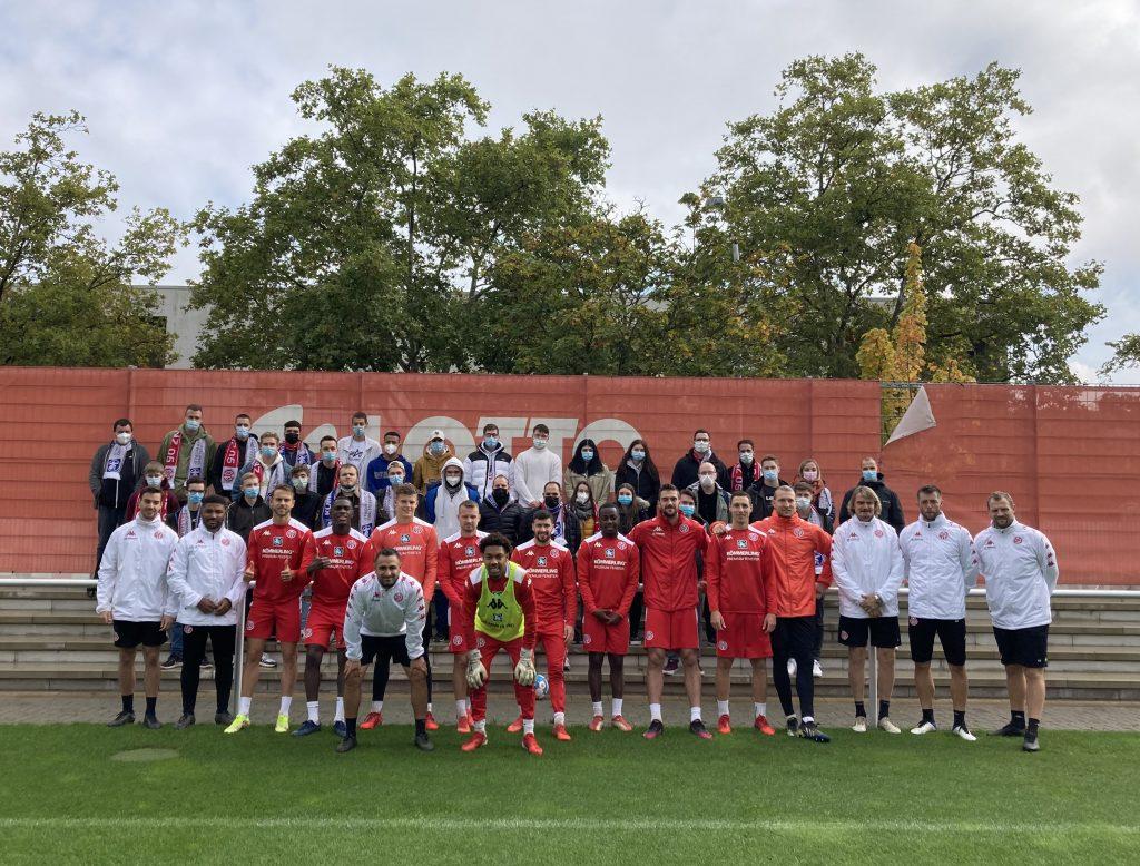 Azubi-Besuch bei unserem Partner & Bundesligisten Mainz 05