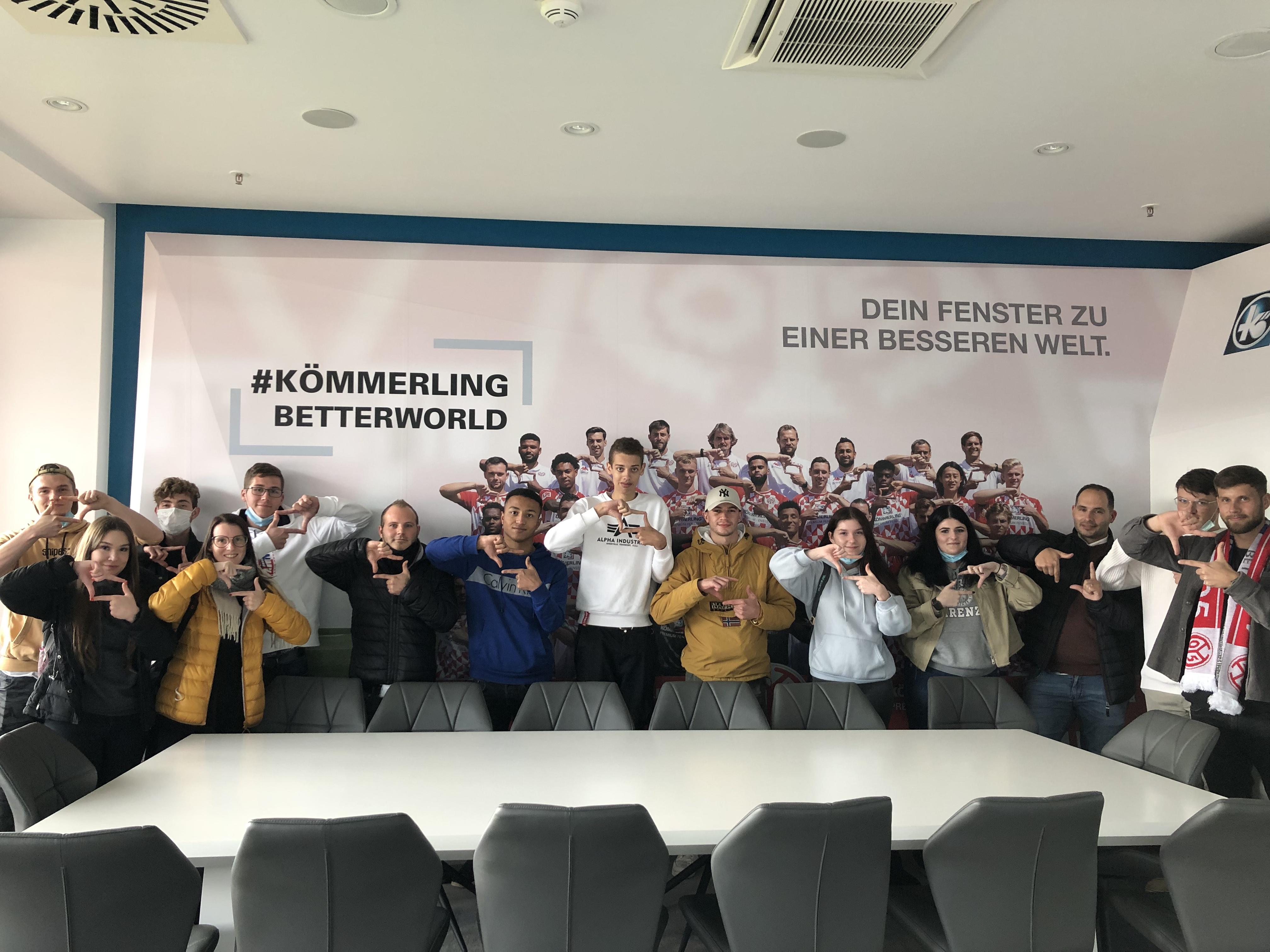 Unsere KÖMMERLING-Lounge im Mainzer Stadion.